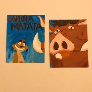 Other - Hakuna Matata The Lion King Original Painting